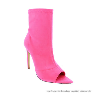 Lauren - Neon Pink {Ultra Suede} - The House of Stylez