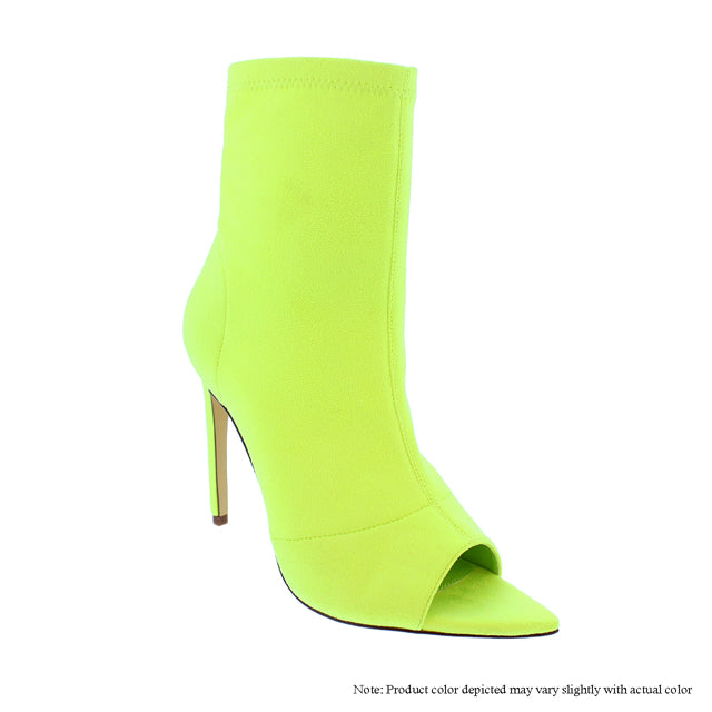 Lauren - Neon Yellow {Ultra Suede} - The House of Stylez