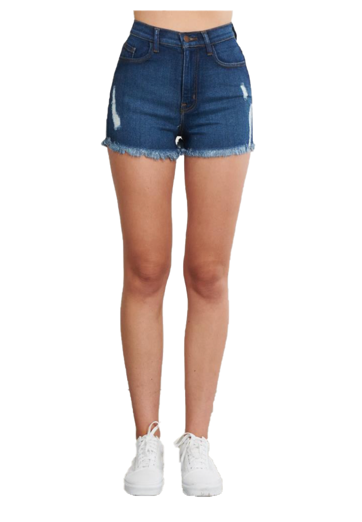 {{MS1813}} Short Shorts {2 Washes Available} - The House of Stylez