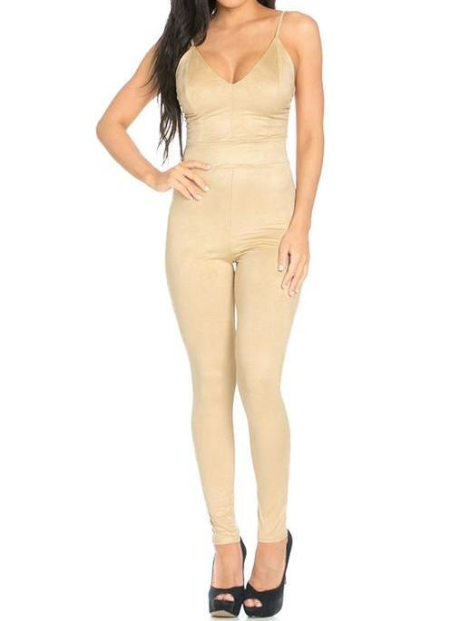 Ultra Suede Jumper - Nude - The House of Stylez