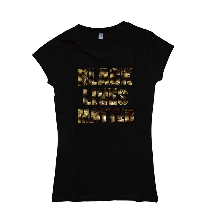 Black Lives Matter T-Shirt {{Gold}} - The House of Stylez