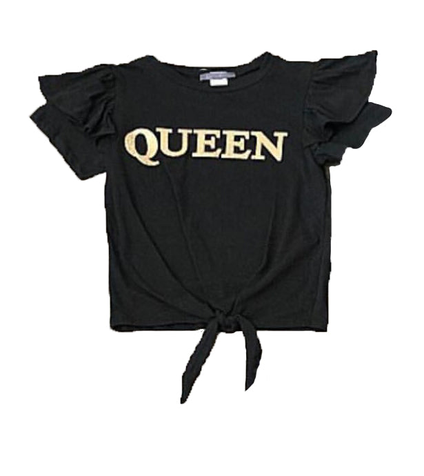 Queen T-shirt {Two Colors Available} - The House of Stylez