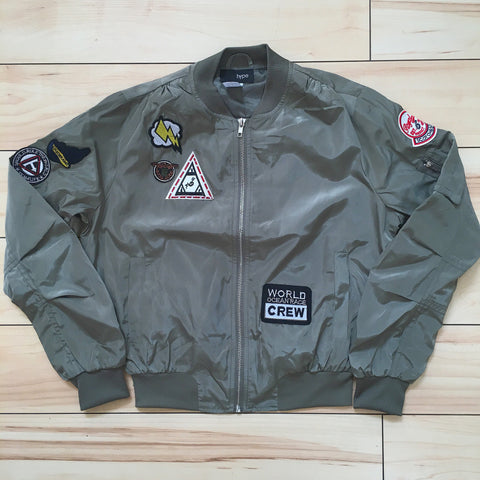 Lightweight Flight Patch Jacket - The House of Stylez