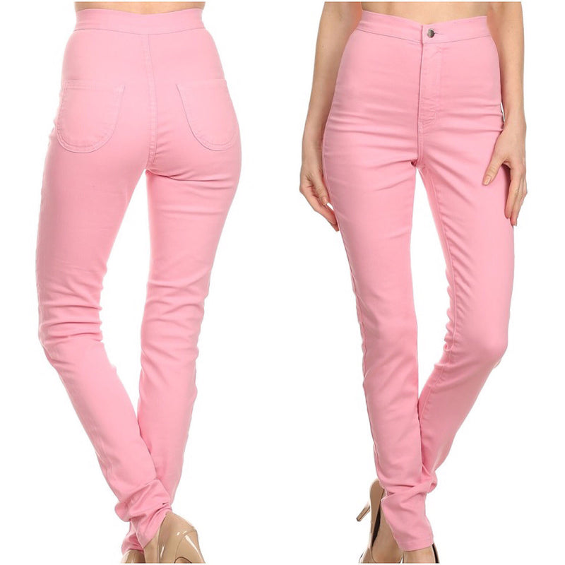 Pink Skinny Jeans - The House of Stylez