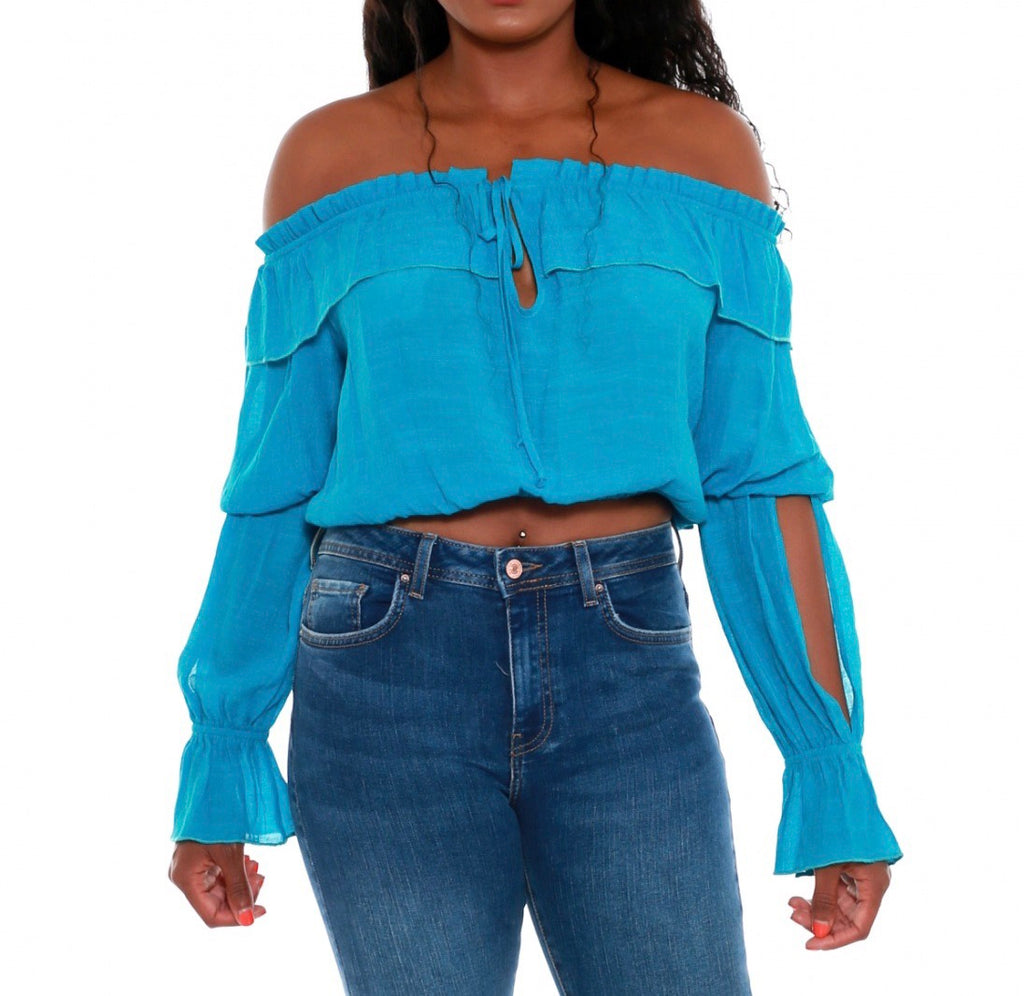 Off the Shoulder Blouse {comes in 5 colors}