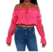 Off the Shoulder Blouse {comes in 5 colors} - The House of Stylez