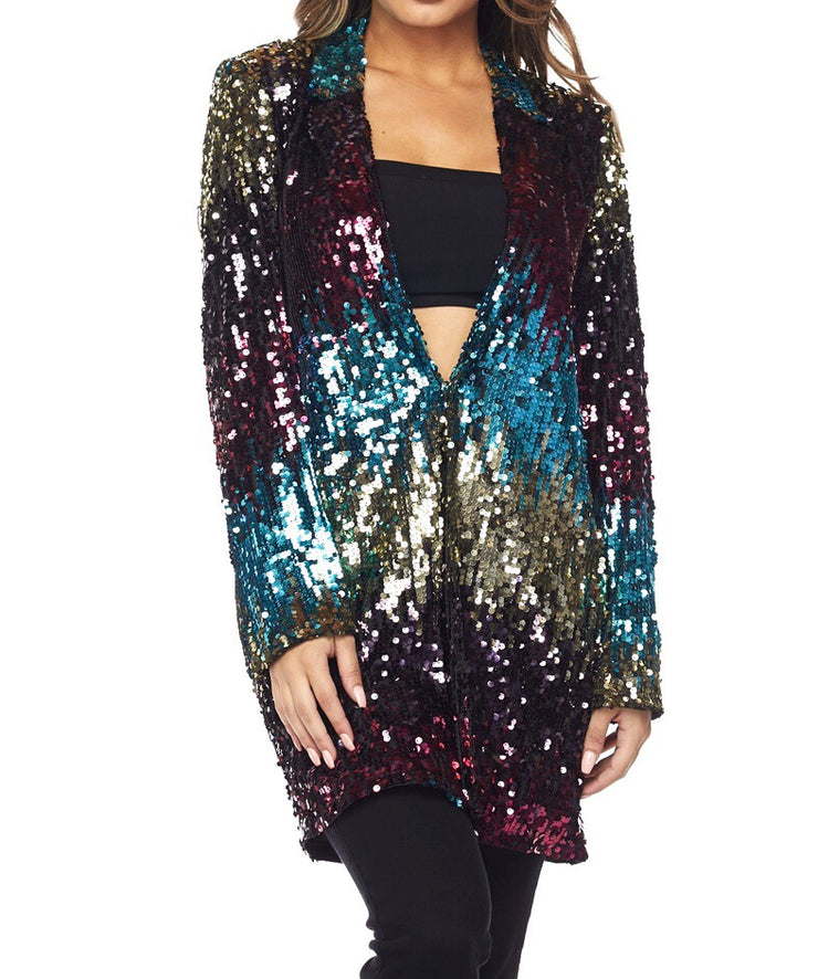 Sequin Blazer - The House of Stylez