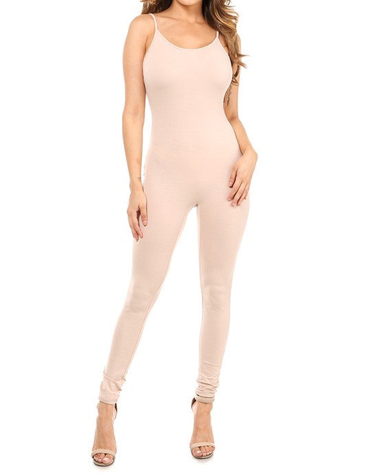 Slim Strap Jumper - Nude - The House of Stylez