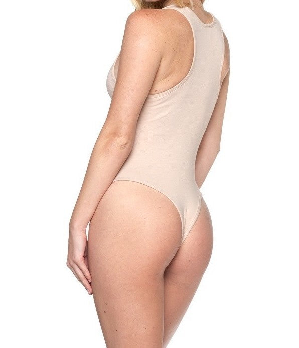 RacerBack Bodysuit (Five Colors Available) - The House of Stylez