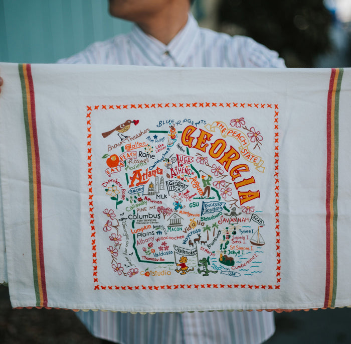 Georgia Dish Towel