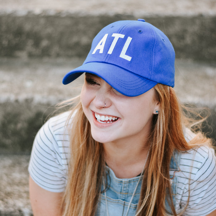 Royal Blue ATL Hat