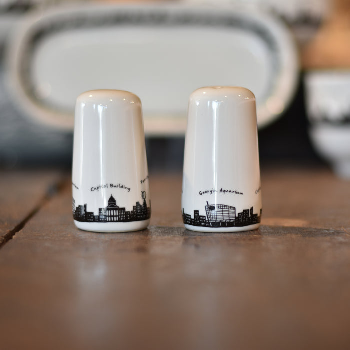 Atlanta Skyline Salt and Pepper Shakers