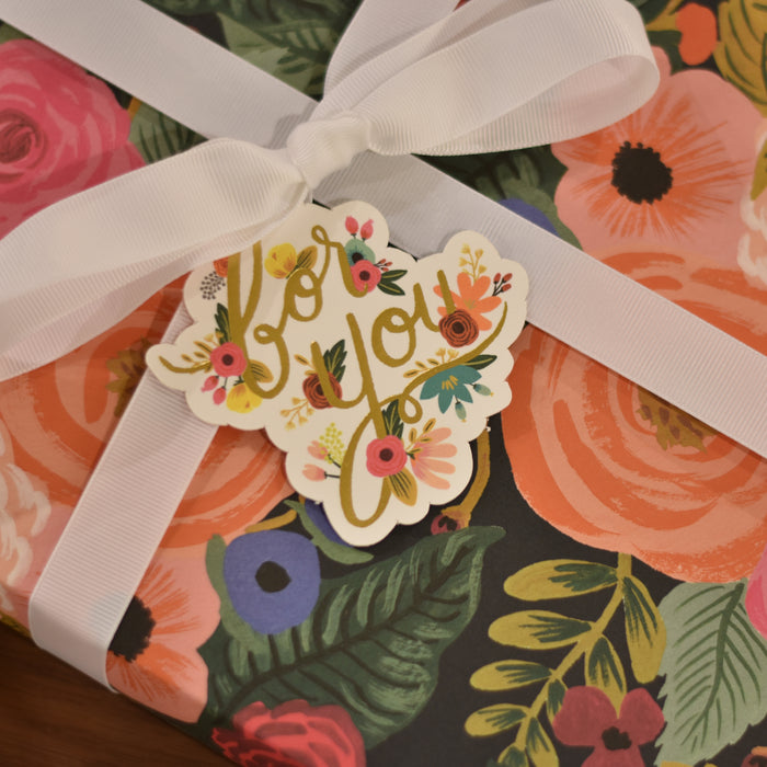 Die-Cut Gift Tags For You