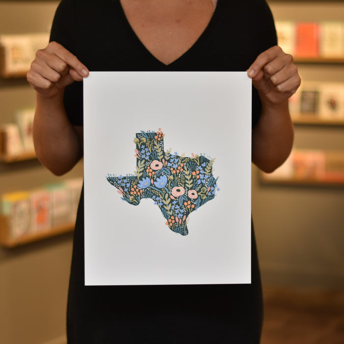Texas Wildflower Print