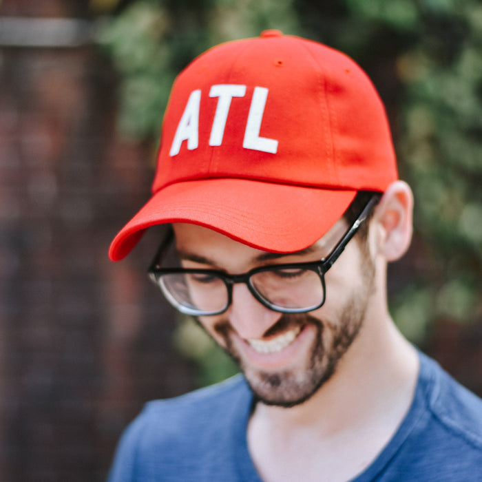 Red ATL Hat