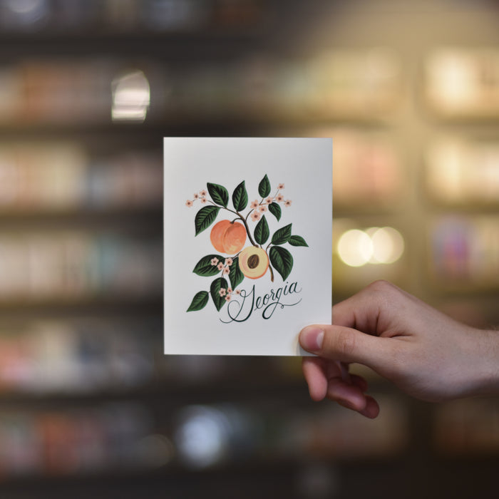 Georgia Peach Card