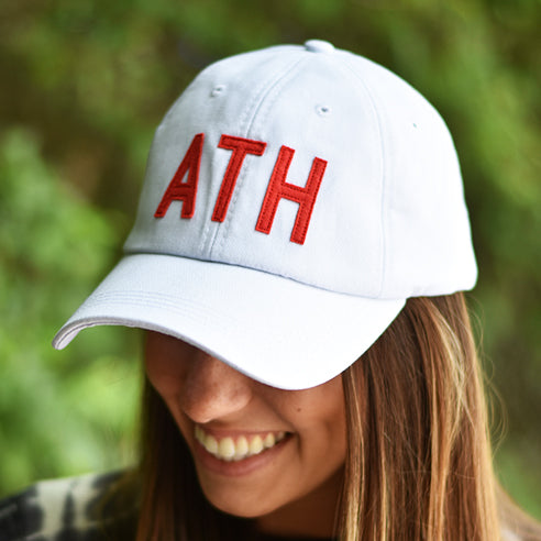 White + Red ATH Hat