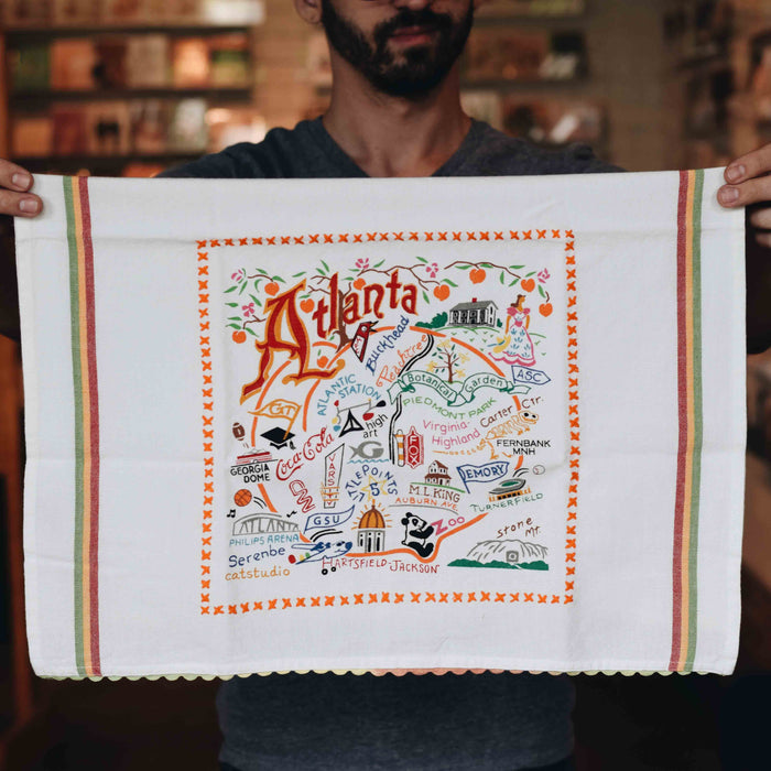 Atlanta Dish Towel