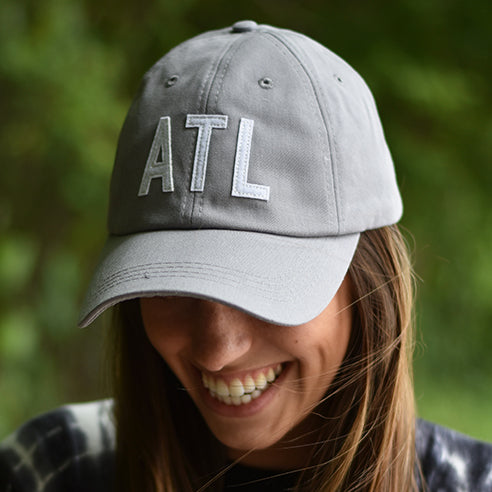 Light Grey ATL Hat