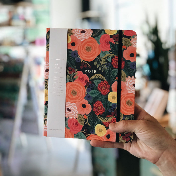 2019 Covered Spiral Planner -  Juliet Rose