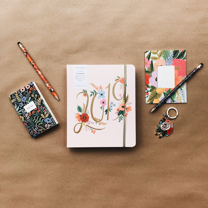 2019 Covered Spiral Planner -  Bouquet