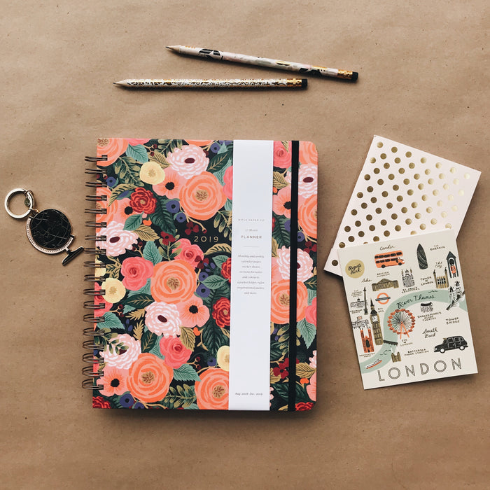 2019 Spiral Bound Planner -  Juliet Rose