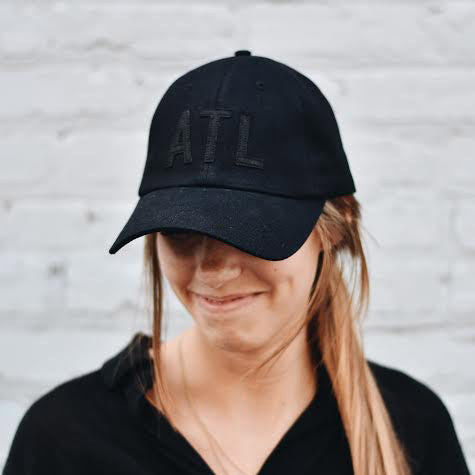 Black on Black ATL Hat