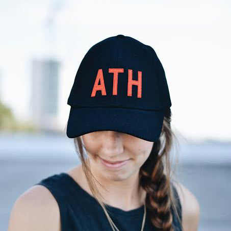 Red and Black ATH Hat