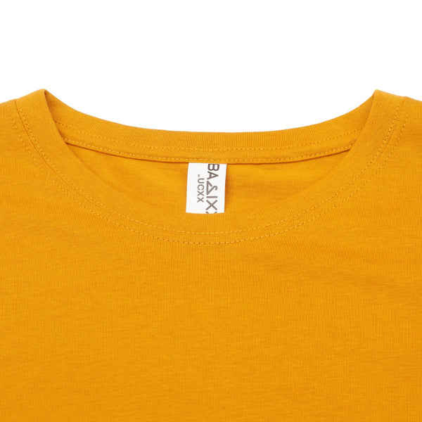 Basic Scoop T-Shirt Timbs Mustard
