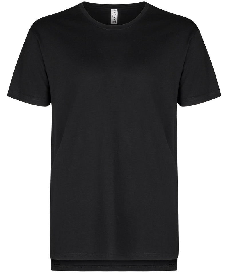 Basic Hi Low T-Shirt Black