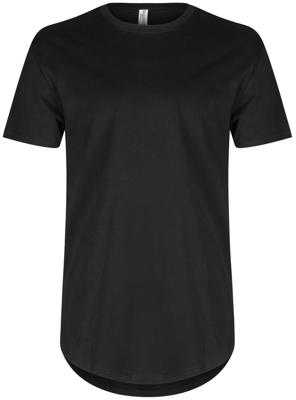 Basic Scoop T-Shirt Black