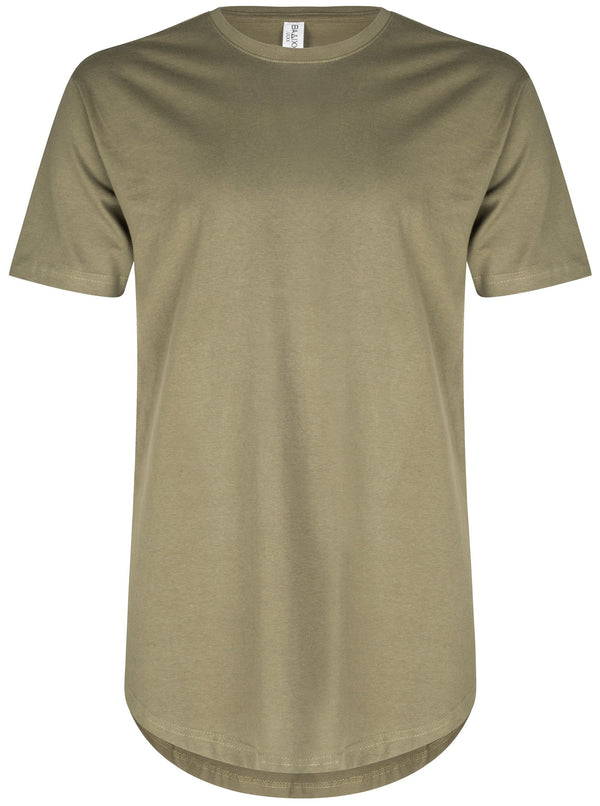 Basic Scoop T-Shirt Olive