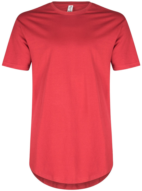 Basic Scoop T-Shirt Red