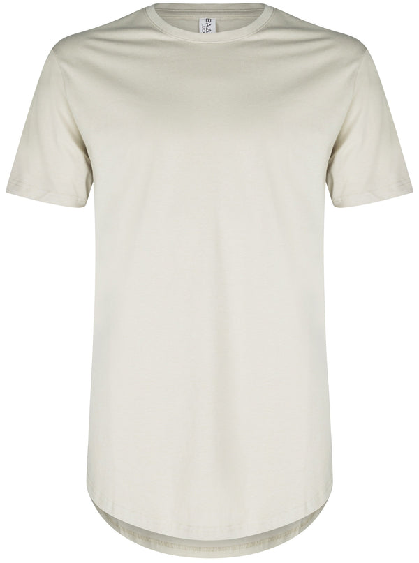 Basic Scoop T-Shirt Sand