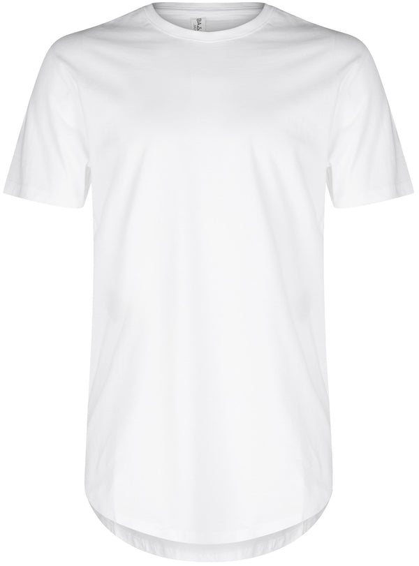 Basic Scoop T-Shirt White