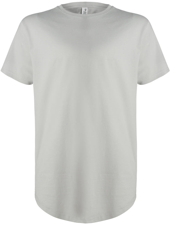 Basic Scoop T-Shirt Cool Grey