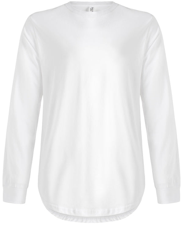 Long Sleeve Scoop White
