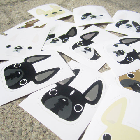 French Bulldog Stickers by French Bulldog Love