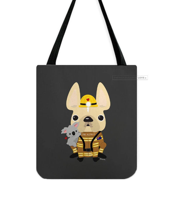 #SAVEAUSTRALIA French Bulldog Tote Bag