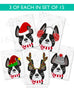 Festive Frenchies 15 Card Holiday Box Set - French Bulldog Love - 7