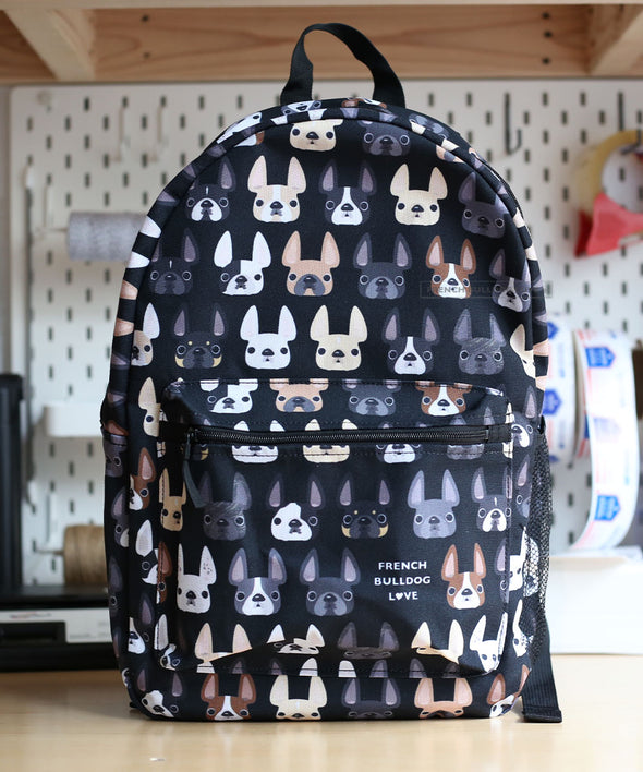 French Bulldog Backpack by French Bulldog Love