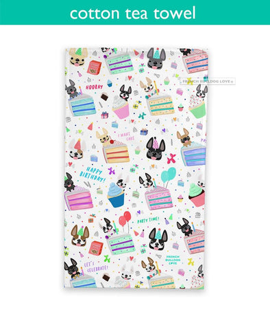 PRE-ORDER // Happy Birthday! Tea Towel