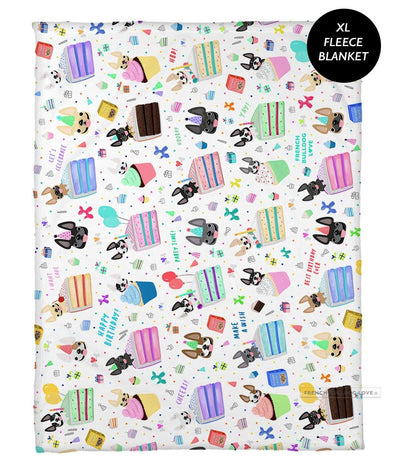 Happy Birthday! Fleece Blanket - XL