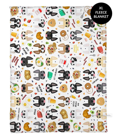 Brunch Time Fleece Blanket - XL