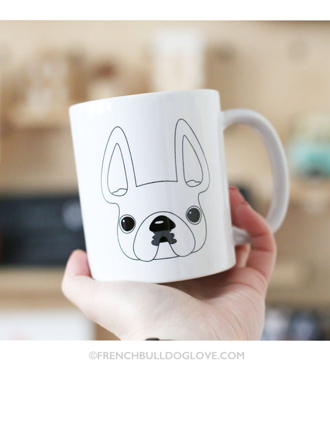 French Bulldog Love Coffee Mug