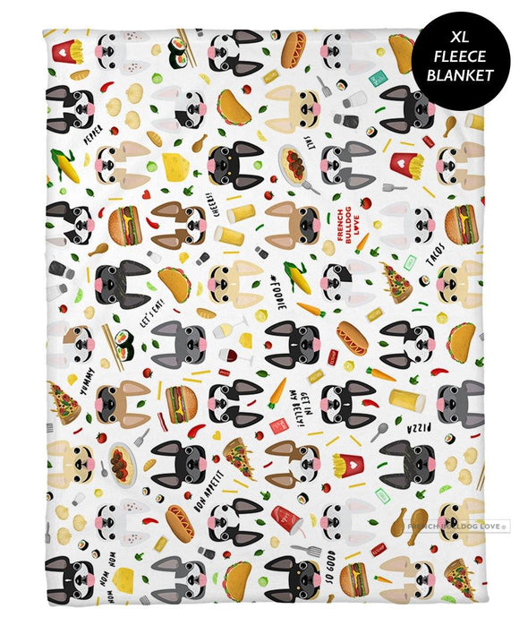 Bon Appetit! Fleece Blanket - XL