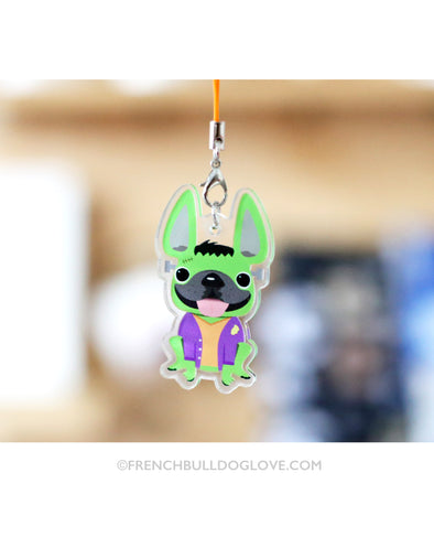 Frenchiestein Halloween Charm