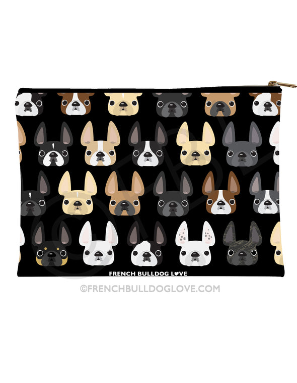 Frenchie Friends French Bulldog Pouch - Large