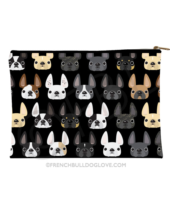 French Bulldog Zipper Pouch