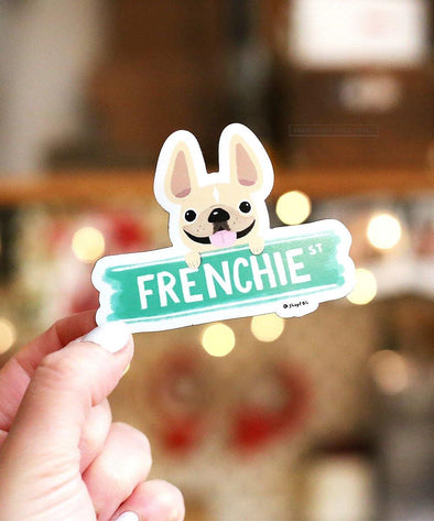 Frenchie Street Magnet - French Bulldog Magnet